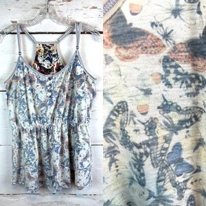 Free People Tops - Free People (We the Free) | Butterfly Tank, Size M